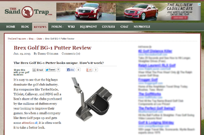 The Sand Trap BG-1 Complete Package Review