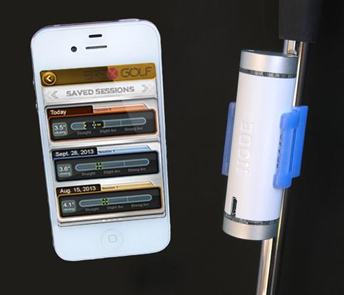 Brex Golf Variable NODE putting analysis - iPhone